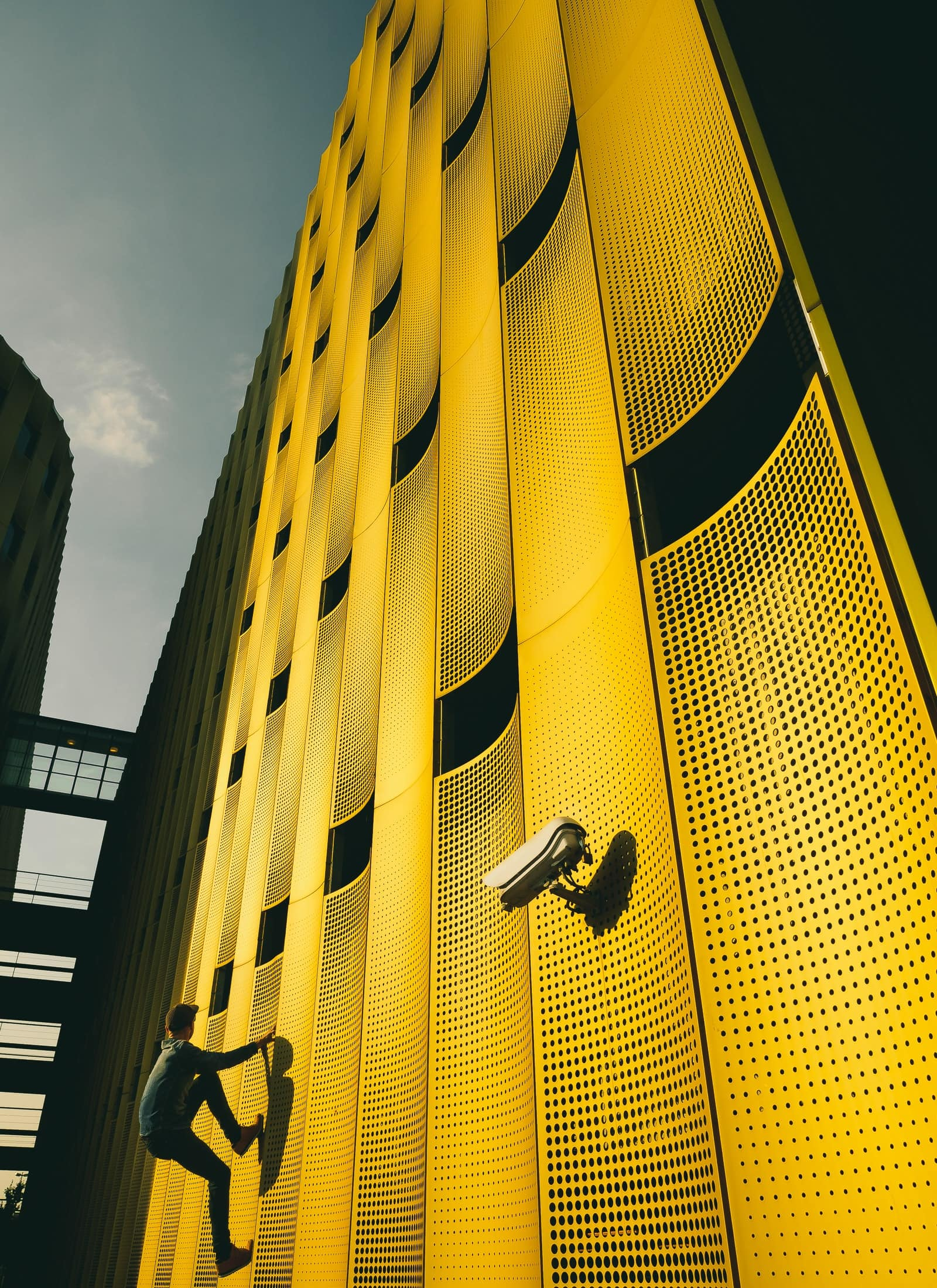 Reginar Photography Papendorp Architecture Climb Summer vibes yellow building